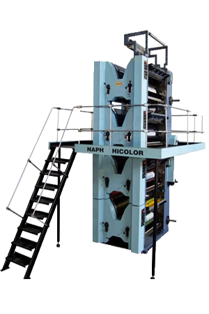 4 Hi Tower (4 Color Offset Printing Machine) - Web Offset Printing Machine