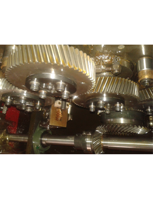 Helical Gears - Web Offset Printing Machine